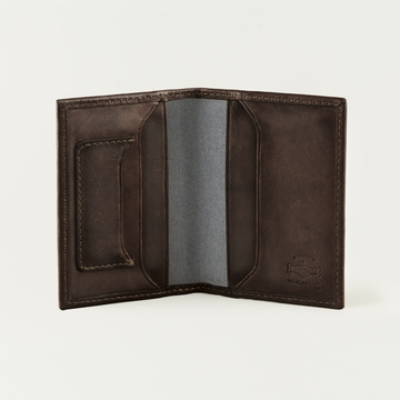 Mission Mercantile Card Wallet Walnut
