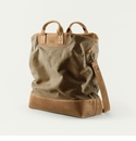 Mission Mercantile Ice Block Bag Brown - Oak Leather
