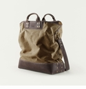 Mission Mercantile Ice Block Bag Brown - Oil Leather