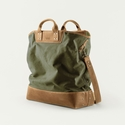 Mission Mercantile Ice Block Bag Forest - Oak Leather