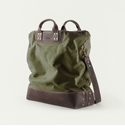 Mission Mercantile Ice Block Bag Forest - Oil Leather