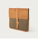 Mission Mercantile Laptop Sleeve Brown - Oak Leather