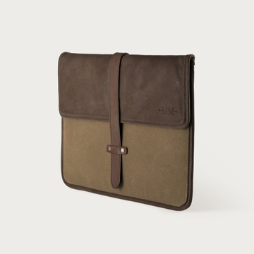 Mission Mercantile Laptop Sleeve Brown - Oil Leather