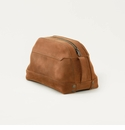 Mission Mercantile Stateroom Wash Bag Oak Leather