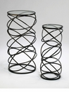 Modern Rings Tables Set (2) by Cyan Design
