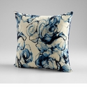 Monet Blue and White Throw Pillow by Cyan Design