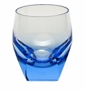 Moser Bar 7.3oz Double Old Fashioned Glass Aquamarine