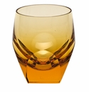 Moser Bar 7.3oz Double Old Fashioned Glass Topaz