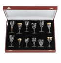 Moser Liqueur Glasses Set of 12 Clear