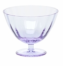 Moser Optic 5.1 Inch Footed Bowl Alexandrite