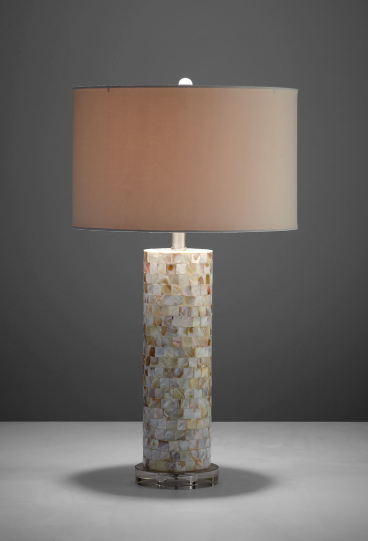 Mother Of Pearl Table Lamp By Cyan Design