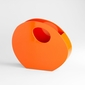 Mulholland Orange Lacquered Wood Container by Cyan Design