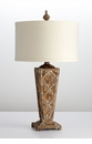 Nadja Wood Table Lamp by Cyan Design