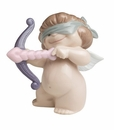 "Nao by Lladro Porcelain ""Aiming for love"" Figurine"