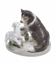 "Nao by Lladro Porcelain ""Countryside companions"" Figurine"