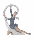 "Nao by Lladro Porcelain ""Dancer with veil"" Figurine"