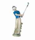 "Nao by Lladro Porcelain ""Fore!"" Figurine"