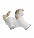 "Nao by Lladro Porcelain ""Halting pony"" Figurine"