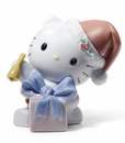 Nao by Lladro Porcelain Happy Holidays Figurine