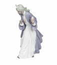 "Nao by Lladro Porcelain ""King Balthasar with Jug"" Figurine"
