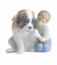 "Nao by Lladro Porcelain ""Let me make it better"" Figurine"