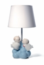 Nao by Lladro Porcelain Little Angels Lamp