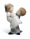 Nao by Lladro Porcelain Love is�you and me Figurine