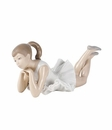"Nao by Lladro Porcelain ""Pensive ballet"" Figurine"