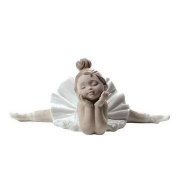 Nao by Lladro Porcelain ''Ready for my debut'' Figurine