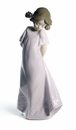 Nao by Lladro Porcelain So Shy! Figurine (Special Edition)