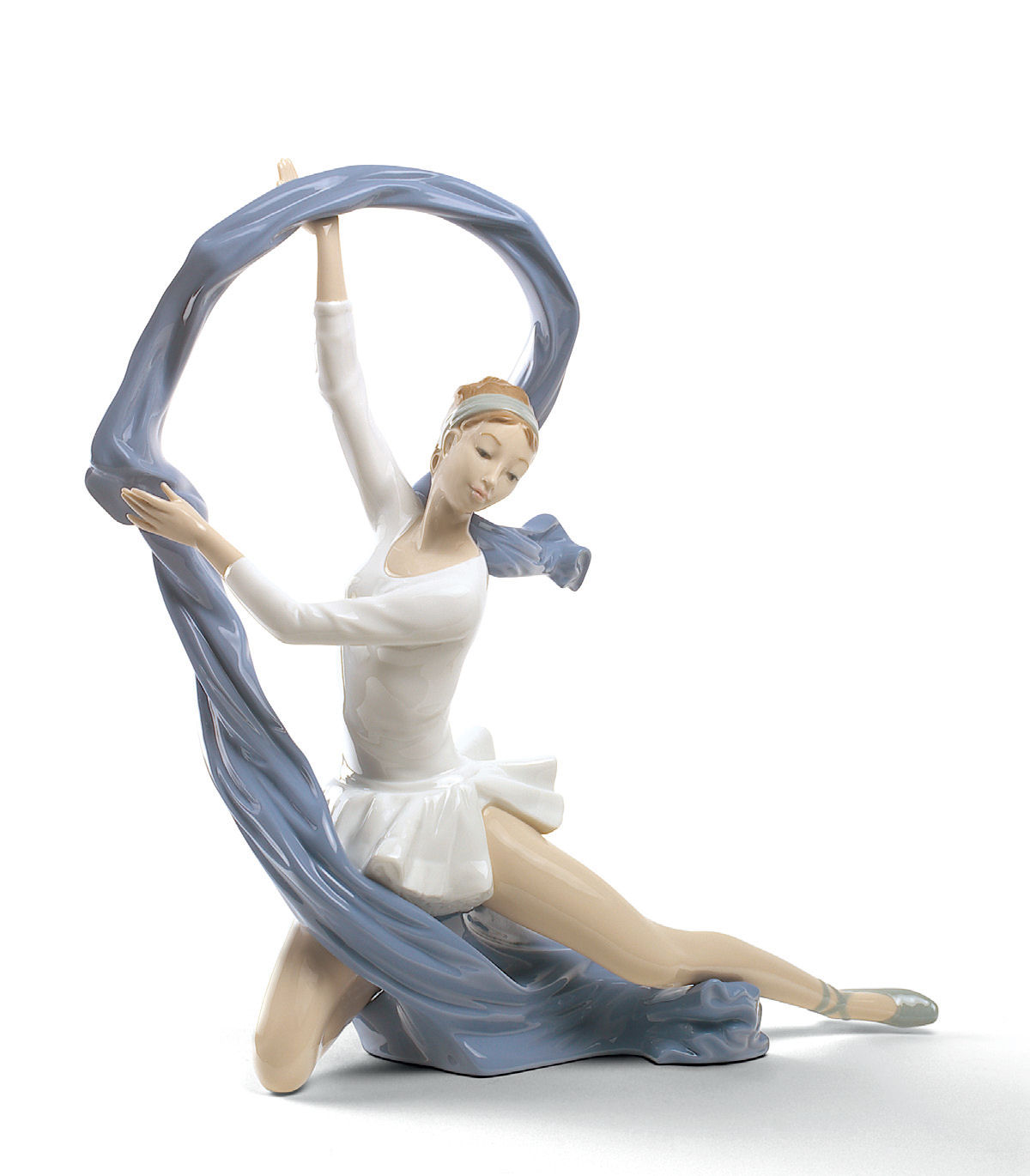 Nao by lladro porcelain dancer with veil figurine special edition - Consider including lladro porcelain figurines home decoration ...