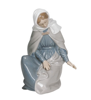 Nao figurines by lladro virgin mary figurine at distinctive christmas collection - Consider including lladro porcelain figurines home decoration ...