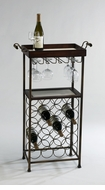 New York Iron Wine Stand by Cyan Design