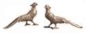 Dessau Home Nickel Pheasants Home Decor
