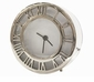 Nickel Roman Numeral Clock Home Decor