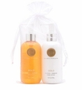 Niven Morgan Gold Hand Soap & Lotion Set