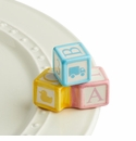 Nora Fleming Baby Blocks Mini Charm