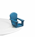 Nora Fleming Chillin Chair Mini Ceramic Charm