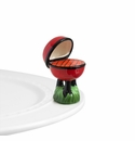Nora Fleming Hot Stuff Grill Mini Ceramic Charm