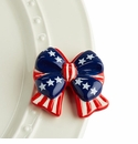 Nora Fleming Independence Bow Mini Charm