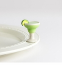 Nora Fleming Lime & Salt Please Margarita Mini Ceramic Charm