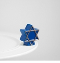 Nora Fleming Star Of David Mini Ceramic Charm