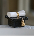 Nora Fleming Top Of The Class Graduation Cap Mini Ceramic Charm