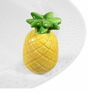 Nora Fleming Welcome Friends Pineapple Mini Ceramic Charm