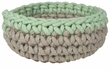 Now Designs Crochet Basket Mint
