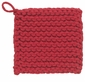 Now Designs Crochet Potholder Parker Red