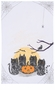 Now Designs Dark Tails Halloween Dishtowel