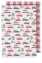 Now Designs Holiday Cars Dishtowels Set of 2