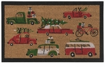 Now Designs Holiday Cars Doormat