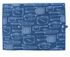 Now Designs Microfiber Dish Drying Mat Royal Blue